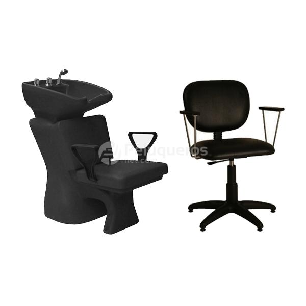 Lavacabeza classic sill n muebles de for Muebles de peluqueria en oferta