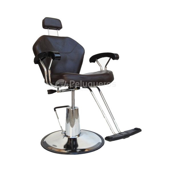 Sillón Barbero Servino Marrón – 4943