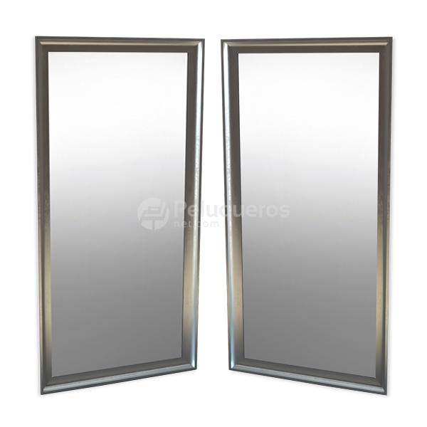Combo 40 – 2 Espejos Metal Cepillado